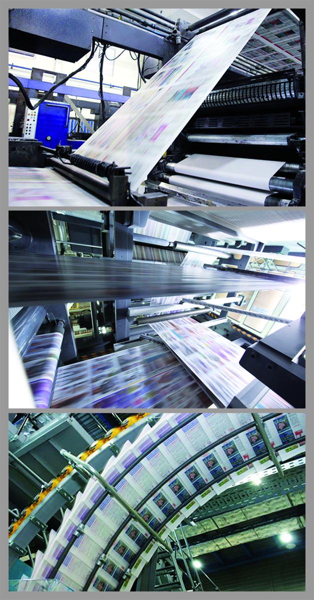 Печать, верстка, изготовление газет, журналов, каталогов